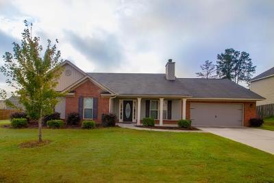 Grovetown Single Family Home For Sale: 1442 Summit Way