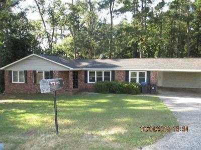 Augusta GA Single Family Home For Sale: $92,900
