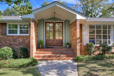 North Augusta Single Family Home For Sale: 1901 Courtney Drive