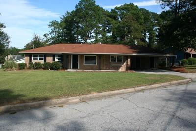 Augusta GA Single Family Home For Sale: $109,000