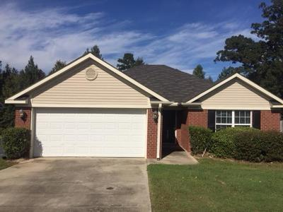 Grovetown Single Family Home For Sale: 3019 Ashland Way