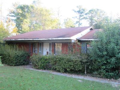 Augusta GA Single Family Home For Sale: $39,000