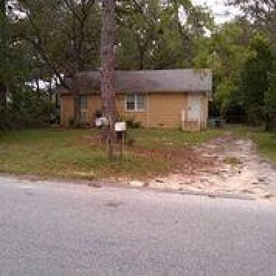 Augusta GA Single Family Home For Sale: $47,000