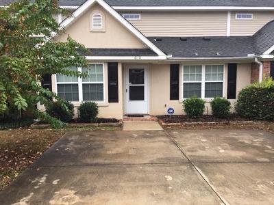 Grovetown GA Single Family Home For Sale: $121,900