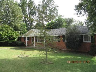 North Augusta Single Family Home For Sale: 247 Johnson Road