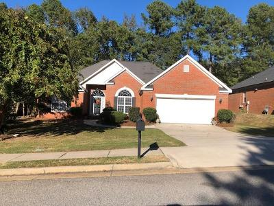 Evans Single Family Home For Sale: 4313 Colony Square Drive