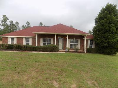 Richmond County Single Family Home For Sale: 1225 Oak Ridge Plantation Road