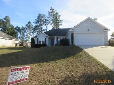 North Augusta Single Family Home For Sale: 5480 Silver Fox Way