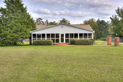 Evans Single Family Home For Sale: 635 Gibbs Road