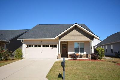 Grovetown Single Family Home For Sale: 4445 Grove Landing Drive