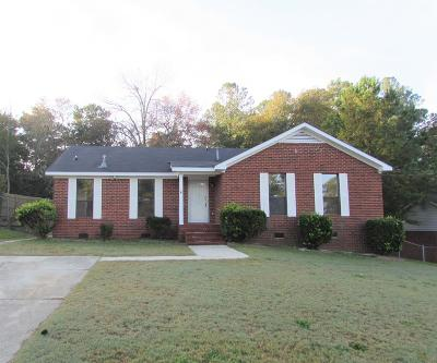 Augusta Single Family Home For Sale: 3023 Mabus Drive