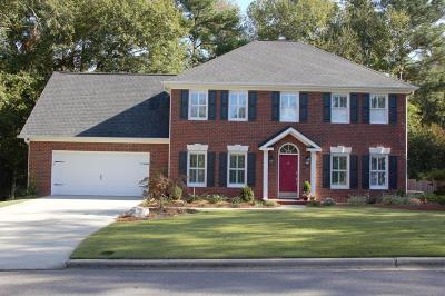 North Augusta Single Family Home For Sale: 201 Springwood Court