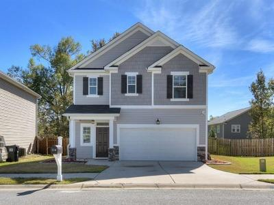 Grovetown GA Single Family Home For Sale: $180,000