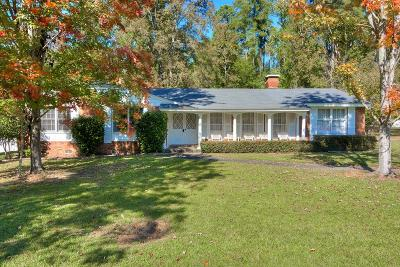 Augusta Single Family Home For Sale: 3505 Nassau Drive