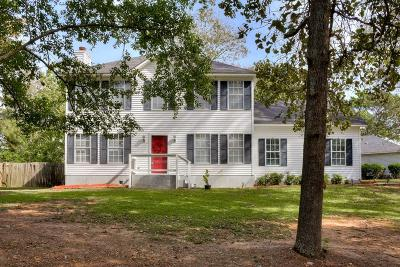 North Augusta Single Family Home For Sale: 662 Hunts Grove Road