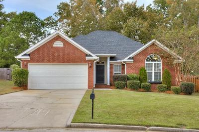 Grovetown Single Family Home For Sale: 526 Marble Falls