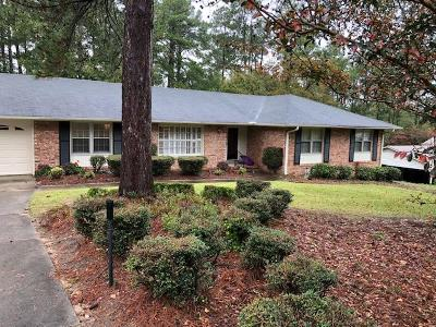 North Augusta Single Family Home For Sale: 1914 Courtney Drive