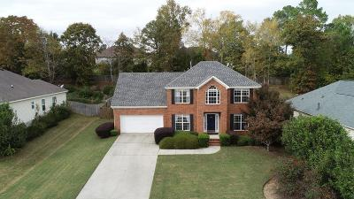 Grovetown Single Family Home For Sale: 232 Hot Springs Drive