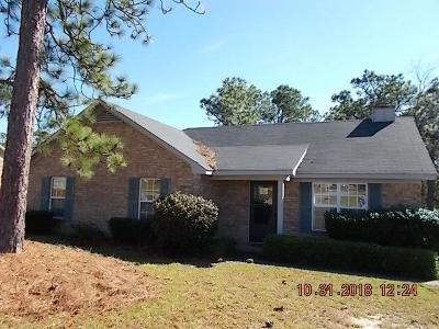 Hephzibah Single Family Home For Sale: 2612 Spirit Creek Road
