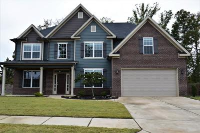 Grovetown Single Family Home For Sale: 4209 Ellington Drive