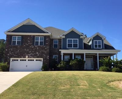 Evans Single Family Home For Sale: 470 Weyanoke Drive