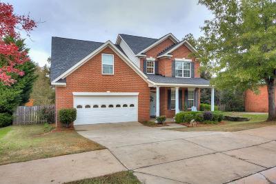 Evans Single Family Home For Sale: 203 Nicholson Street