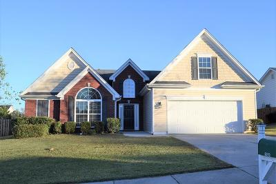Grovetown Single Family Home For Sale: 6010 Great Glen Drive