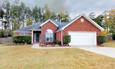 Grovetown Single Family Home For Sale: 1231 Pinnacle Drive