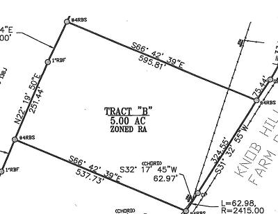 Evans Residential Lots & Land For Sale: Tract B Knob Hill Farm Road