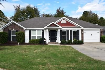 Grovetown Single Family Home For Sale: 3156 Alexandria Drive
