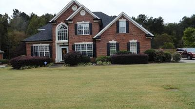 Evans Single Family Home For Sale: 958 Windmill Pkwy