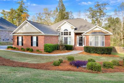 North Augusta Single Family Home For Sale: 3215 Maplewood