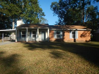 Richmond County Single Family Home For Sale: 3813 Beacon Drive