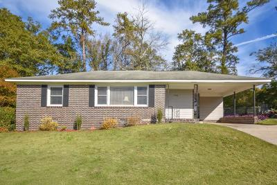 North Augusta Single Family Home For Sale: 1436 Waccamaw Drive