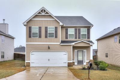 Grovetown Single Family Home For Sale: 4444 Grove Landing Drive