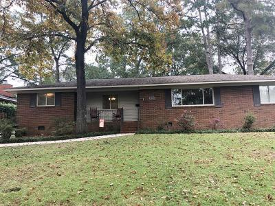 North Augusta Single Family Home For Sale: 1203 Crestview Drive