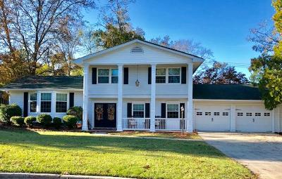 North Augusta Single Family Home For Sale: 4 Hickory Court