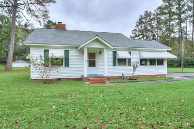 North Augusta Single Family Home For Sale: 966 Belvedere Clearwater Road