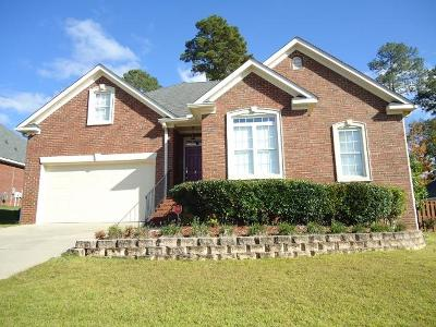 Evans Single Family Home For Sale: 1369 Shadow Oak Drive