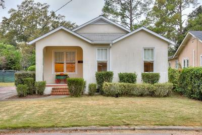 Augusta Single Family Home For Sale: 1309 Murphy Street