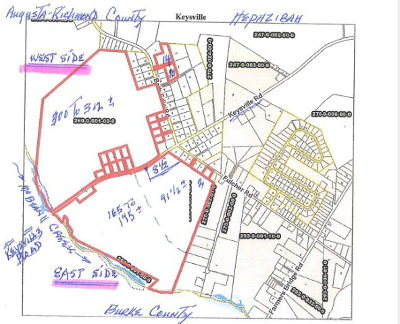 Richmond County Residential Lots & Land For Sale: 4315 Bath Edie Road