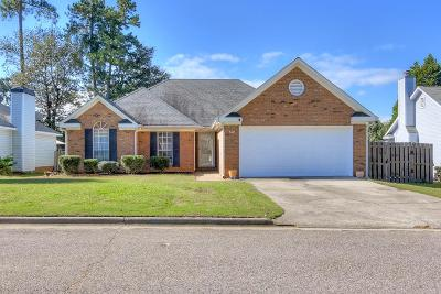 Evans Single Family Home For Sale: 560 Blue Ridge Crossing