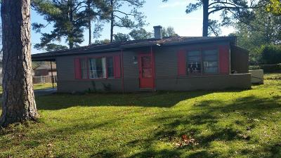 Richmond County Single Family Home For Sale: 3108 Wilbur Street