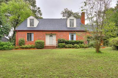 Augusta Single Family Home For Sale: 804 Hickman Road