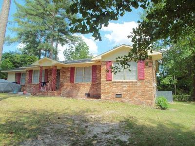 Augusta GA Single Family Home For Sale: $75,000