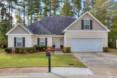 Grovetown Single Family Home For Sale: 4060 Corners Way