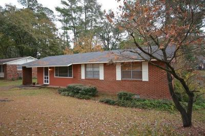 Augusta GA Single Family Home For Sale: $119,900