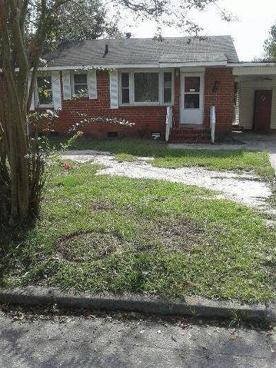 Richmond County Single Family Home For Sale: 1541 Wilder Street