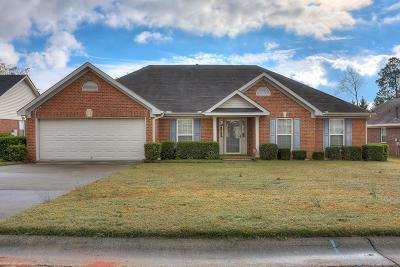 Hephzibah Single Family Home For Sale: 3476 Essex Place