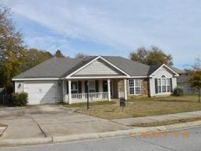 Grovetown Single Family Home For Sale: 3102 Alexandria Drive #--